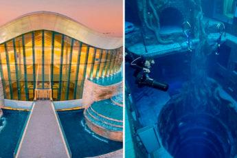 Очутиться на самой глубине: открылся глубочайший бассейн во всем мире