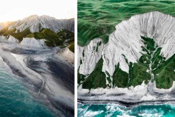 Необычайной красоты остров в России, пейзажи которого кажутся фантастикой