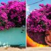 15 работ уличного художника, который идеально вписывает растения в свои творения